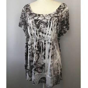 Women's 3X Apt 9 short sleeve shirt